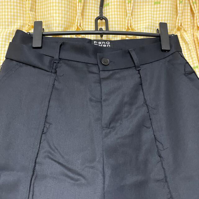 sacai(サカイ)のfeng chen wang ショーツ アーティザナル 再構築 メンズのパンツ(ショートパンツ)の商品写真