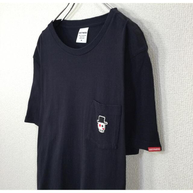 WACKO MARIA(ワコマリア)の◉【スカル刺繍】ワコマリア WACKOMARIA 半袖Tシャツ ポケット付 紺色 メンズのトップス(Tシャツ/カットソー(半袖/袖なし))の商品写真