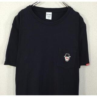 WACKO MARIA - ◉【スカル刺繍】ワコマリア WACKOMARIA 半袖Tシャツ ポケット付 紺色
