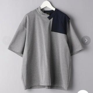 kolor - kolor 半袖Tシャツ 21ss 襟切り替え 2 新品