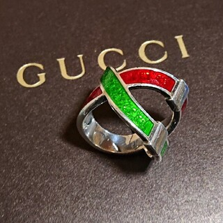 "Gucci - GUCCI❇️クロス シルバーリング ""18号"" シェリーライン"