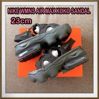 NIKE - 黒23cm ナイキ エアマックス ココサンダル KOKO SANDAL