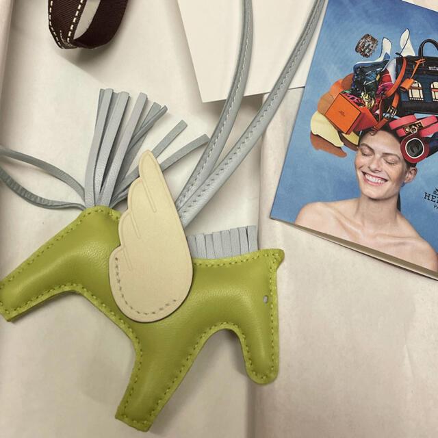 Hermes(エルメス)の今月購入❣️ 新品❣️ 正規エルメスロデオPM ペガサス バッグチャーム   ハンドメイドのファッション小物(バッグチャーム)の商品写真