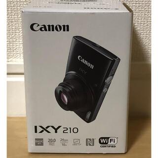 Canon - 新品未開封 Canon キャノン IXY 210 デジタルカメラ シルバーカラー