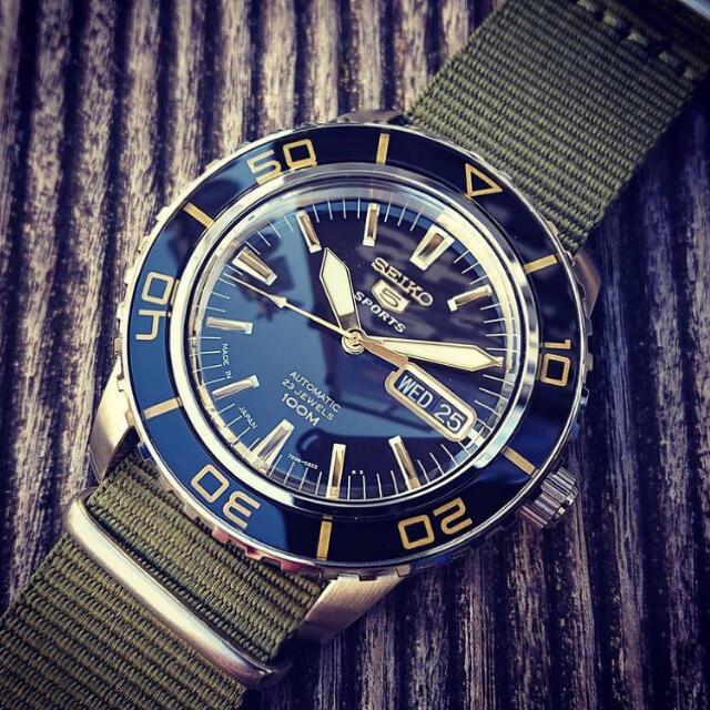 SEIKO(セイコー)のSEIKO ARMY DIVER メンズの時計(腕時計(アナログ))の商品写真