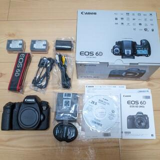 Canon - 【極上美品】Canon EOS 6D シャッター数約5,300 バッテリー3つ