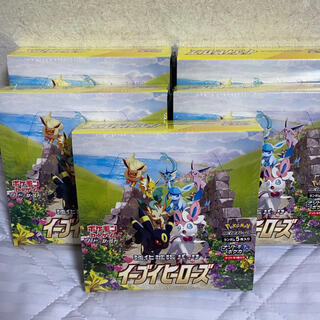 ポケモン(ポケモン)のイーブイヒーローズ 5BOX(Box/デッキ/パック)