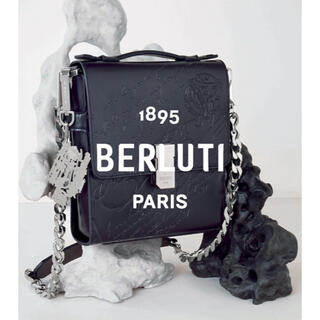 Berluti - 定価60万ベルルッティBERLUTIスクリットレザーメッセンジャーバッグ