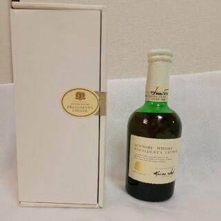 サントリー プレジデントチョイス 特級ウイスキー 箱あり
