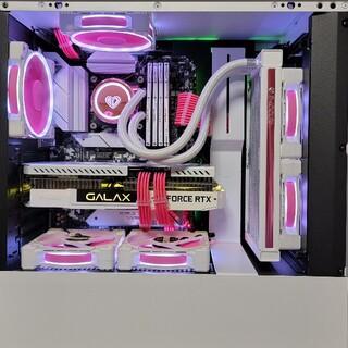 ハイエンドゲーミングPCピンクホワイト 10700 3070ti 32GB 1T