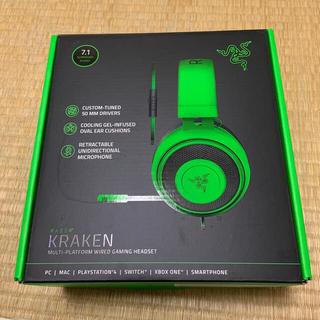 レイザー(LAZER)のRazer Kraken Green ヘッドセット(ヘッドフォン/イヤフォン)