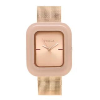 フルラ(Furla)のFURLA フルラ ピンク ピンクゴールド べっ甲 時計(腕時計)