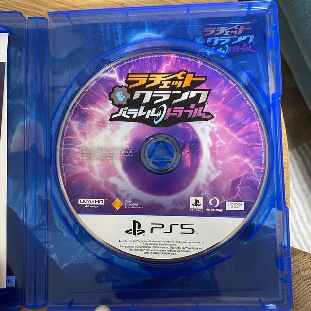 SONY(ソニー)のラチェット&クランク パラレル・トラブル PS5 エンタメ/ホビーのゲームソフト/ゲーム機本体(家庭用ゲームソフト)の商品写真