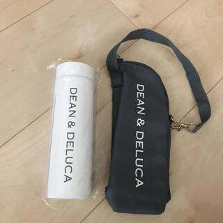 DEAN & DELUCA - GLOW 8月号 DEAN&DELUCA ボトル(ホワイト)&保冷ボトルケース