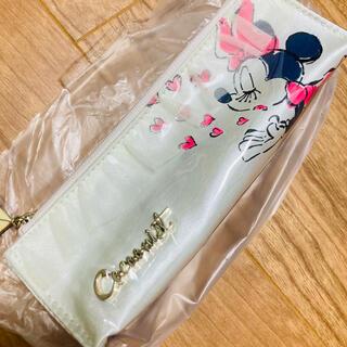 コクーニスト(Cocoonist)の新品 コクーニスト ディズニー ミニーちゃん レース付き 歯ブラシケース(旅行用品)