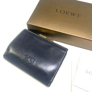 LOEWE - LOEWE 本革がま口財布