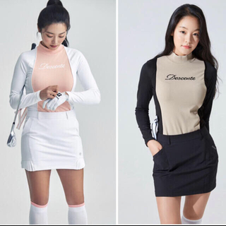 DESCENTE - DESCENTEレディース 韓国シャツ新品、正規品、タグ付き