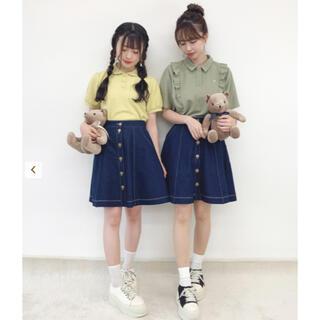 フィント(F i.n.t)の♥ Fint  デニムフレアーミニスカート ♥(ミニスカート)
