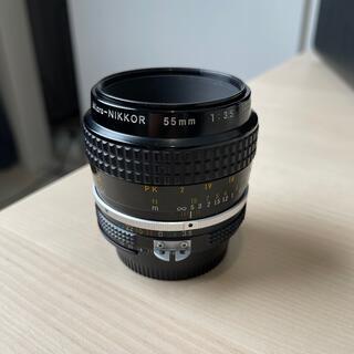 Nikon - Nikkor 55mm F3.5 Micro 美品