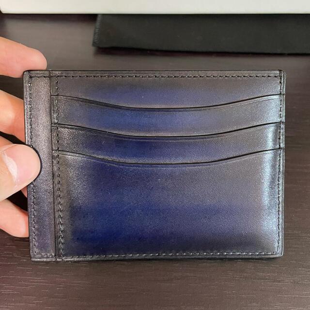 Berluti(ベルルッティ)のBerluti ベルルッティ カードケース バンブーテトリス シルバーパティーヌ メンズのファッション小物(名刺入れ/定期入れ)の商品写真