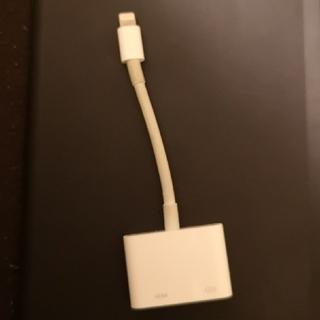 Apple純正 HDMI変換ケーブル