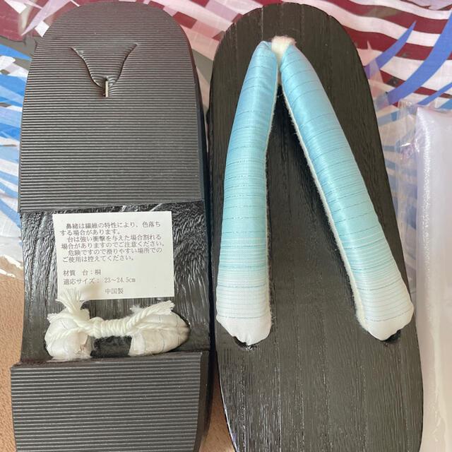 新品未使用 sugar  ボタニカルリーフ柄 浴衣 5点セット 帯は作り帯 レディースの水着/浴衣(浴衣)の商品写真