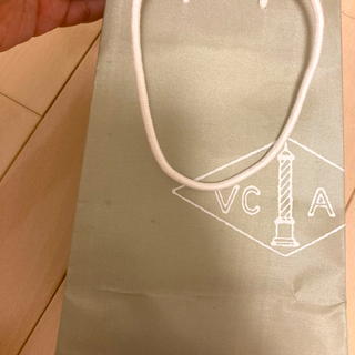 Van Cleef & Arpels - Vancleef&Arpels 紙袋 小1枚 緑 シャイニーグリーン バンクリ