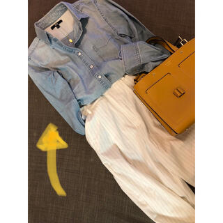 UNIQLO - UNIQLO デニムシャツ ライトカラー S