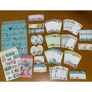 Disney - ⭐︎ディズニーバラメモ&付箋&封筒 合計61枚⭐︎