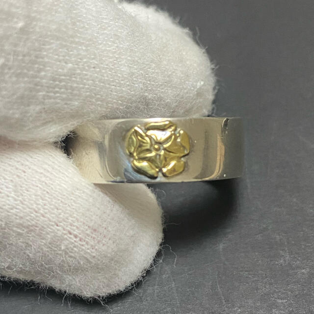 goro's(ゴローズ)のゴローズ リング 平打ちローズリング 19号 メンズのアクセサリー(リング(指輪))の商品写真