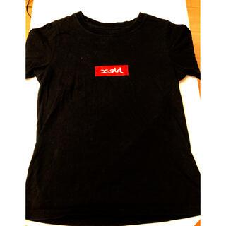 X-girl - x-girl Tシャツ (サイズ2 ブラック)