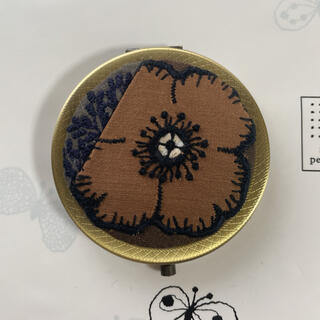 mina perhonen - ⭐anemone ×  forest dot⭐ コンパクトミラー
