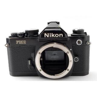 Nikon - Nikon NEW FM2 後期 ボディ ブラック 【動作確認済・露出計OK】