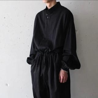 超美品yokosakamoto 20ssジャンプスーツ オールインワン ブラック