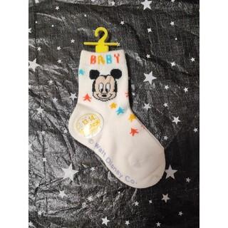 ミッキーマウス(ミッキーマウス)のミッキーマウス 靴下 13~14 ソックス(靴下/タイツ)