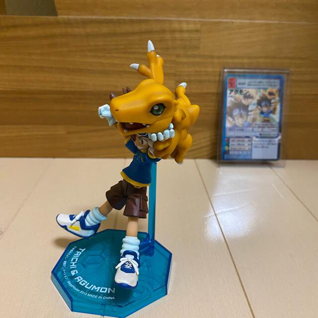 MegaHouse(メガハウス)のg.e.m 太一&アグモン デジモン フィギュア エンタメ/ホビーのフィギュア(アニメ/ゲーム)の商品写真