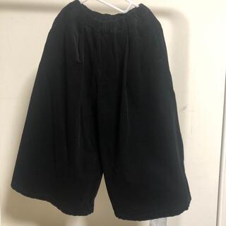 マーキーズ(MARKEY'S)の【マーキーズ】ワイドフレアパンツ  黒  150cm(パンツ/スパッツ)