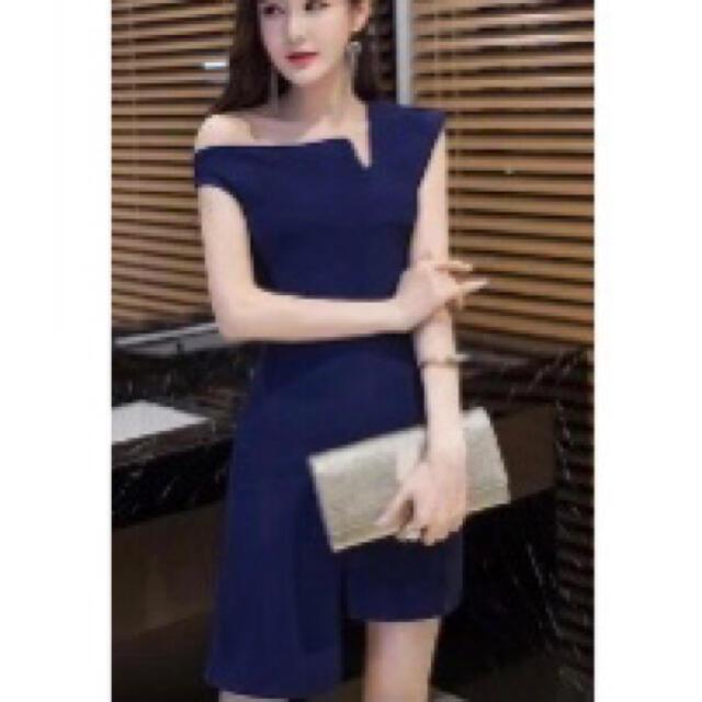 韓国ドレス♡キャバドレス レディースのフォーマル/ドレス(ミニドレス)の商品写真