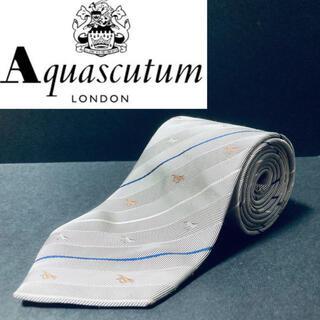 アクアスキュータム(AQUA SCUTUM)の【美品】Aquascutum /アクアスキュータム ネクタイ ホース柄(ネクタイ)