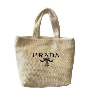 PRADA - プラダ編みのバッグ