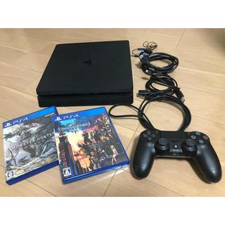 PlayStation4 - PlayStation4 本体 500GB 付属品あり+ソフト2本