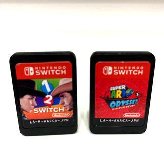 Nintendo Switch - 任天堂スーパーマリオ オデッセイ、1-2-Switchワンツースイッチ