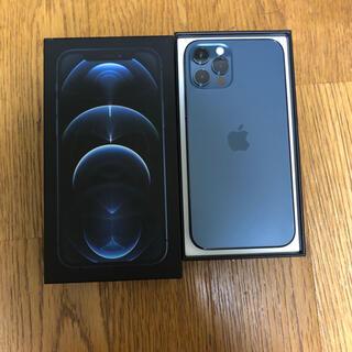 iPhone - iPhone 12 pro パシフィックブルー 512 GB SIMフリー