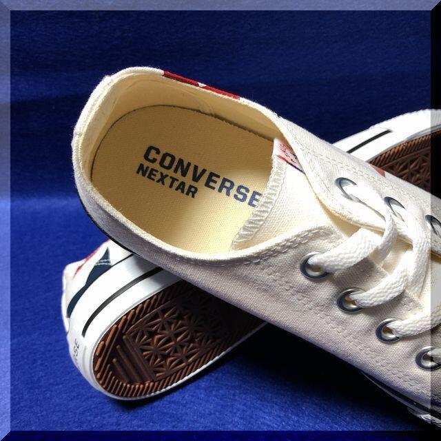CONVERSE(コンバース)の23.0cm コンバース ネクスター110 ST OX ホワイト レディースの靴/シューズ(スニーカー)の商品写真