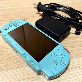 PlayStation Portable - 充電器付き⭐️PSP2000本体〈ミントグリーン〉SDカード4GB付