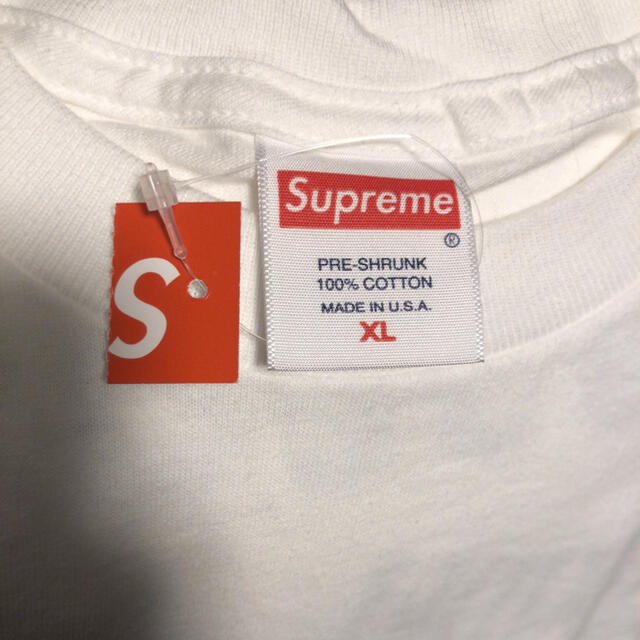 Supreme(シュプリーム)の本物 XL 新品 supreme spiral tシャツ スウェット パーカー メンズのトップス(Tシャツ/カットソー(半袖/袖なし))の商品写真