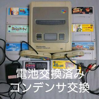 スーパーファミコン(スーパーファミコン)のスーパーファミコン 本体ソフトセット(家庭用ゲーム機本体)