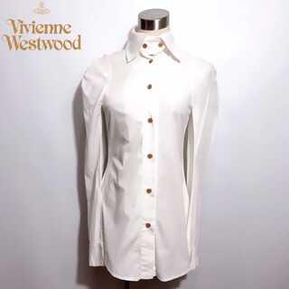 Vivienne Westwood - 希少 美品 ヴィヴィアンウエストウッド ロング丈 シャツ インポート イタリア製