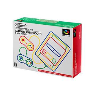 スーパーファミコン(スーパーファミコン)の新品未開封 ニンテンドークラシックミニ スーパーファミコン(家庭用ゲーム機本体)