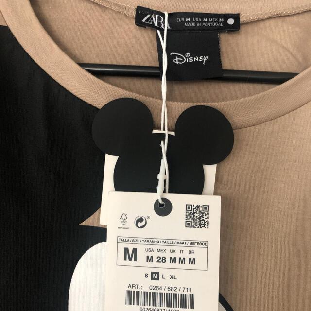 ZARA(ザラ)のZARA Tシャツ 新品未使用タグ付き レディースのトップス(Tシャツ(半袖/袖なし))の商品写真